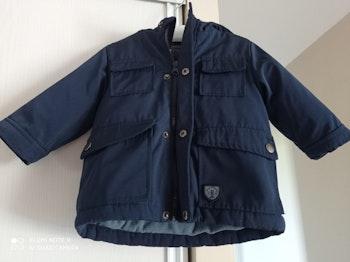 Manteau bleu marine taille 6 mois neuf
