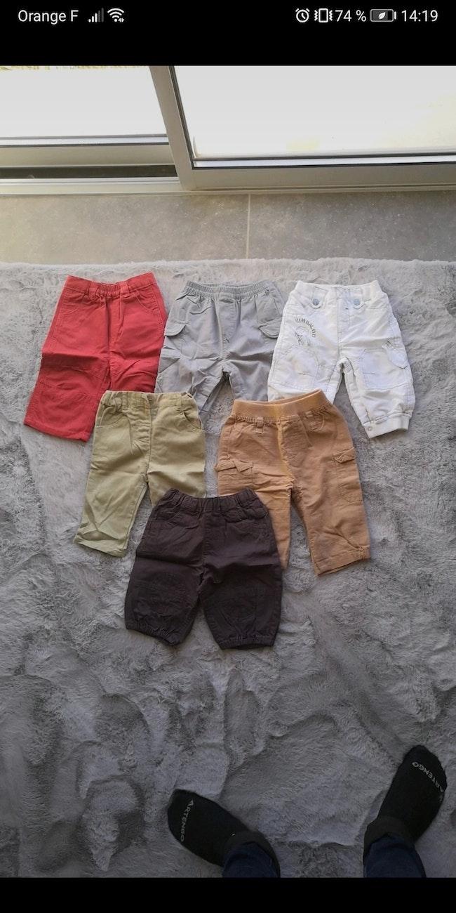 Lot de 6 pantalons 6 mois