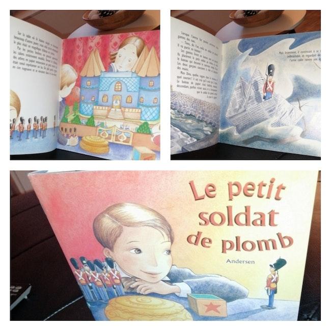 Livre le petit soldat de plomb Éditions Père Castor