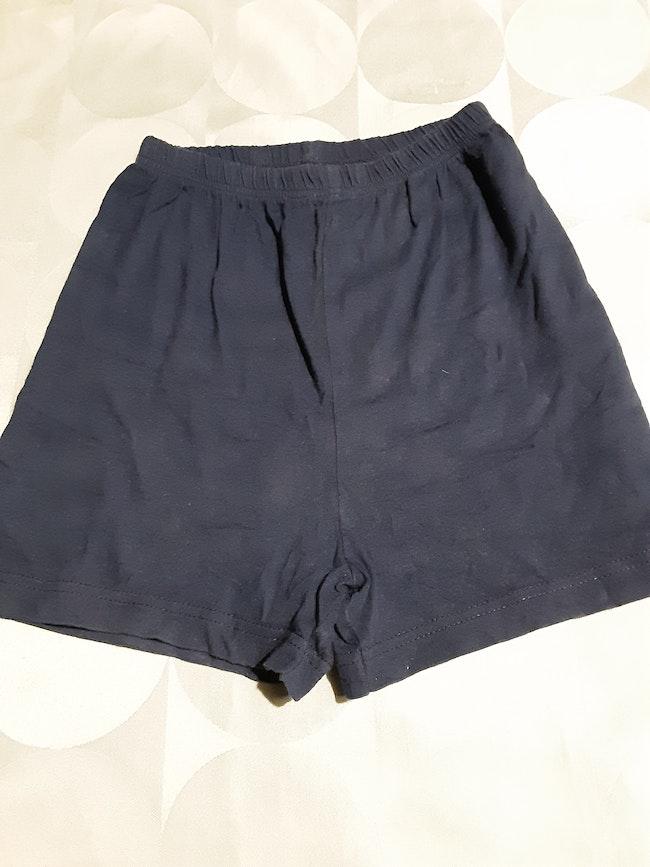 Short bleu marine 24 mois