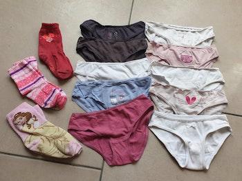 Lot sous vêtements