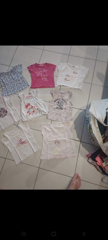 Lot maillots manches courtes