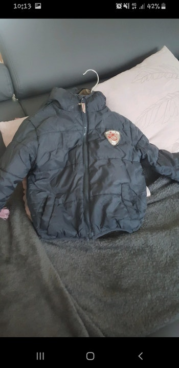 Manteau blouson doudoune