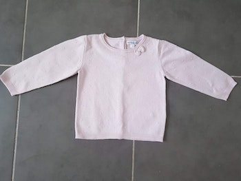 Pull fille marque Vertbaudet, taille 2 ans