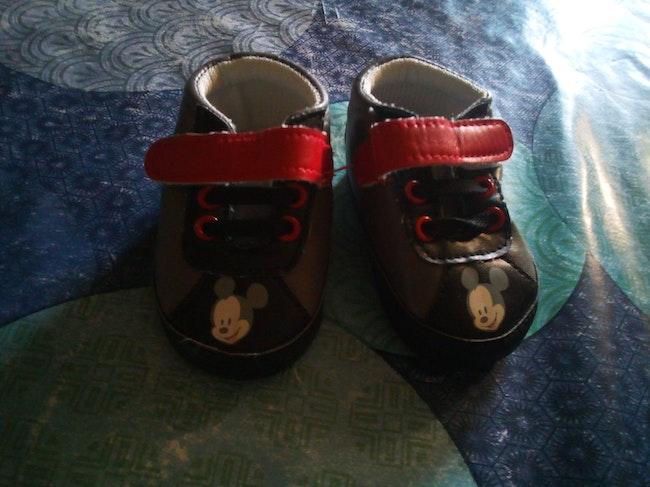 Chaussures bébé Mickey 3/6 mois