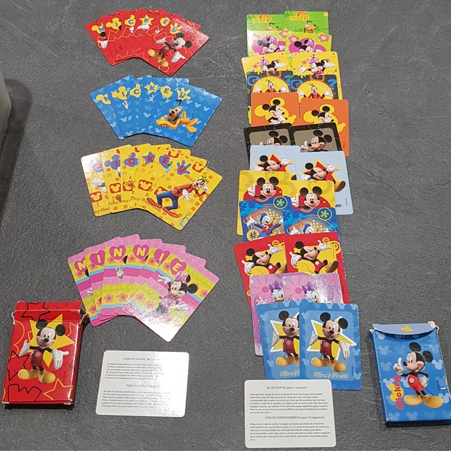 Jeux de cartes Mickey