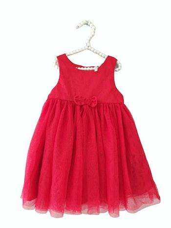 12 mois bébé fille robe bi matière fête orchestra