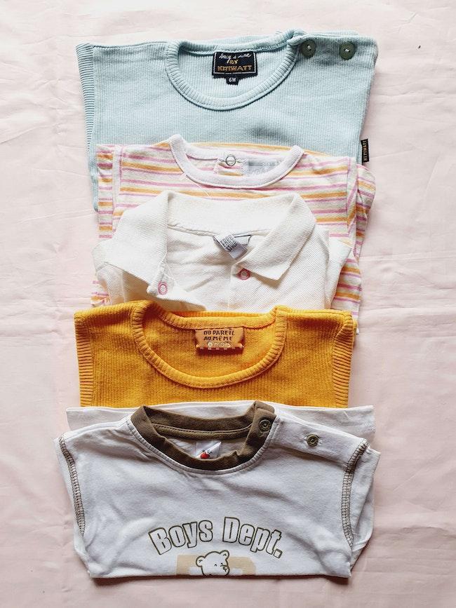 Lot de Tee-shirt manches courtes