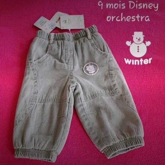 Pantalon hiver 9 mois Disney orchestra