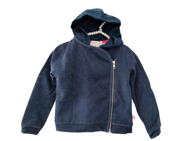4 ans fille veste mi saison zipee bi matière Billieblush