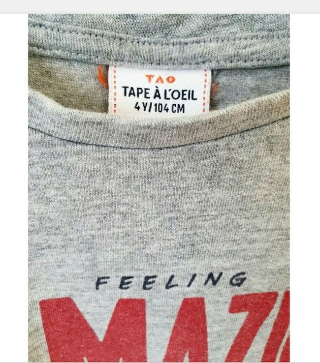 T-shirt 4 ans Tape à l'œil