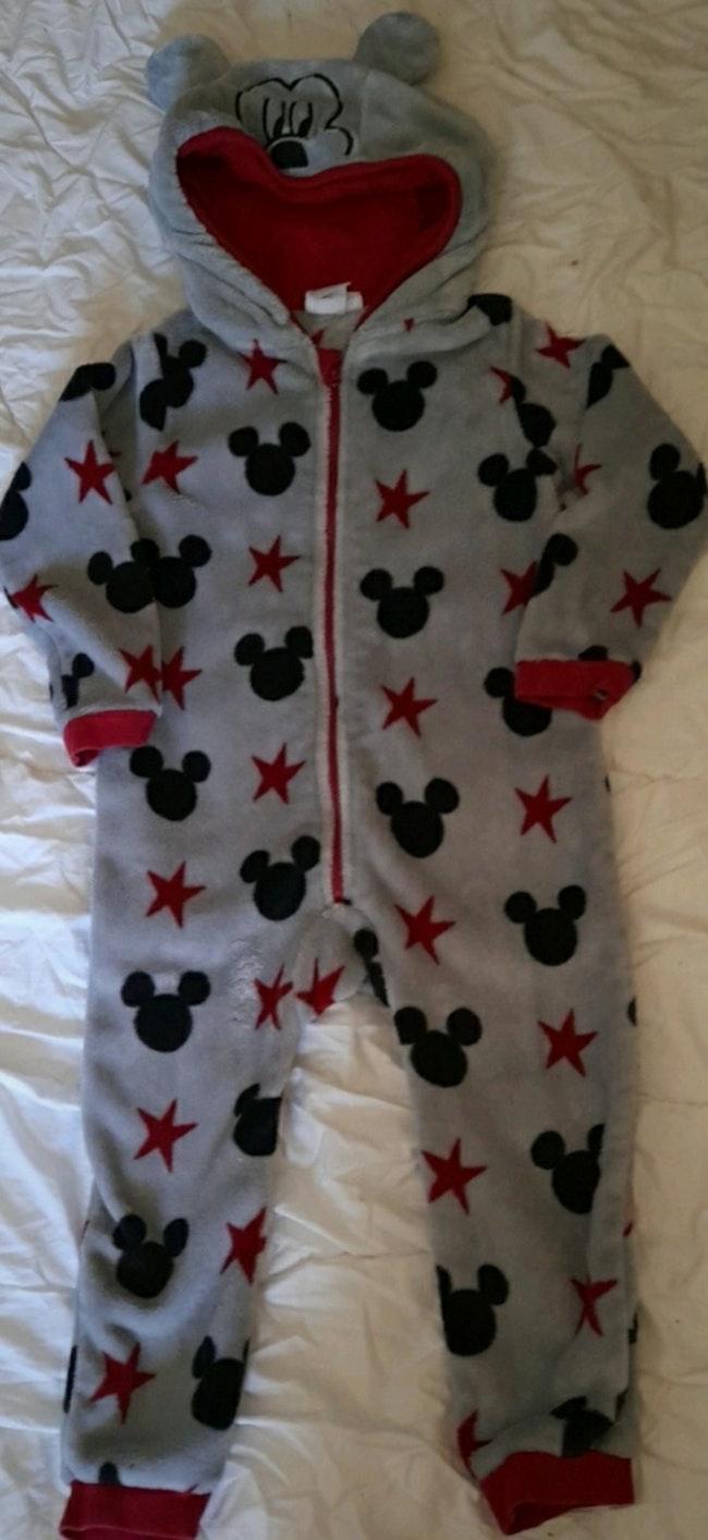 Jolie combinaison pyjama Mickey 4 ans