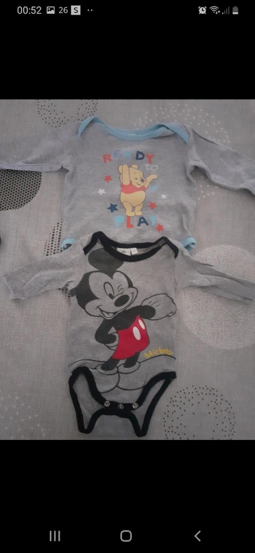 Lot de 2 bodies Disney