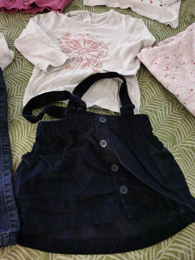 Lot vêtement 18 mois fille
