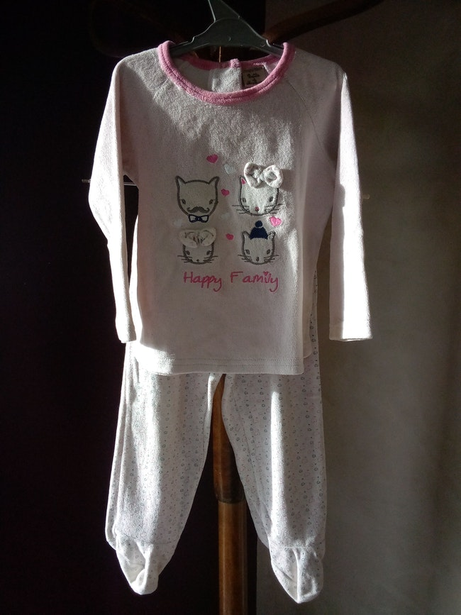Pyjama 2 pièces fille 2 ans