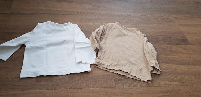 2 tee-shirts manches longues