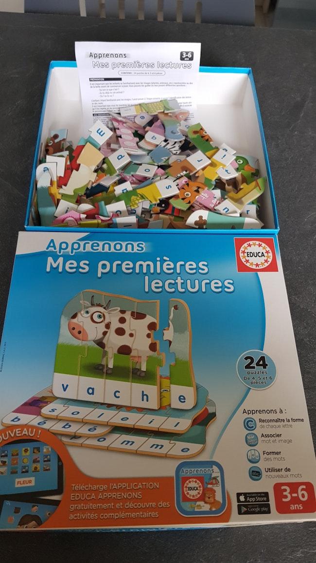 Mes 1ères lectures / puzzle