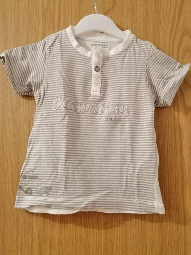 T-shirt garçon 9-12mois