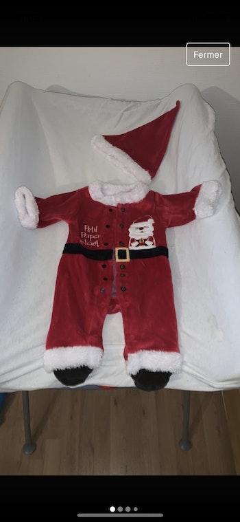 Pyjama papa noël 3mois