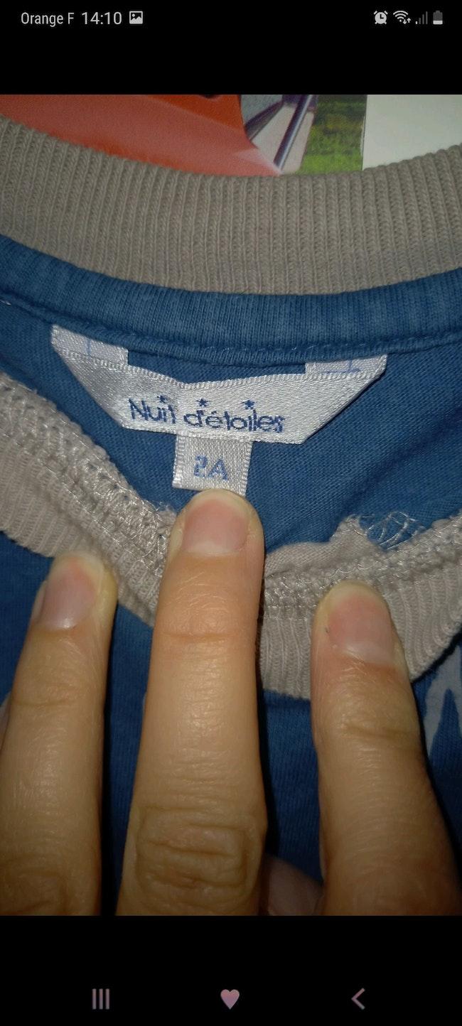 Pyjama fin 2 pièces