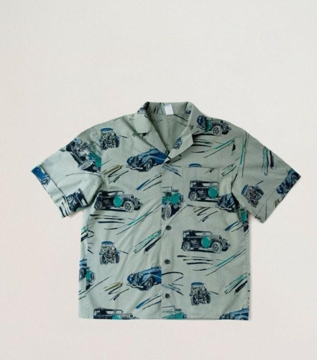 Chemise vieux tacots / 9 ans