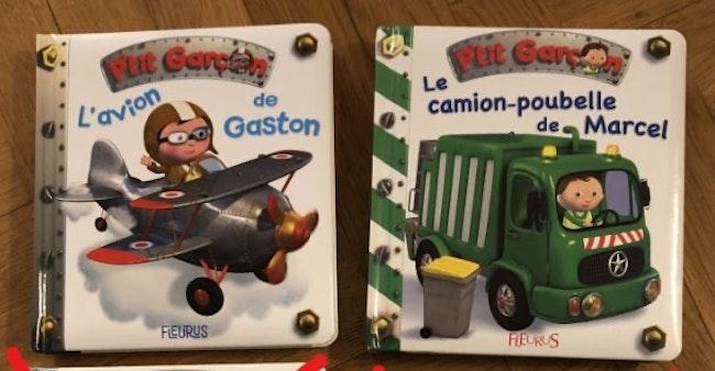 Lot de 2 livres de la collection «P'tit Garçon»