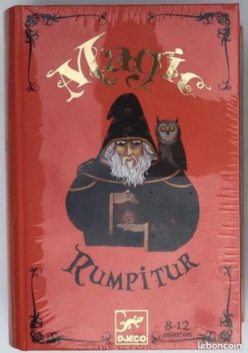 NEUF sous blister Djeco magic rumpitur kit de magie 8-12 ans coffret magicien Eric Antoine lot SOP77