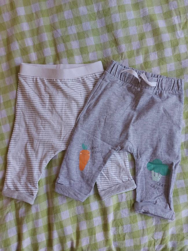 Lot de 2 pantalons