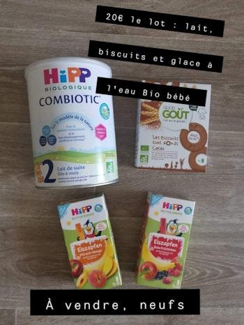 Lot HIPP Combiotic Good Goût