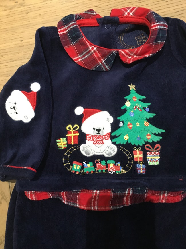 Pyjama Noël Sergent Major 3mois