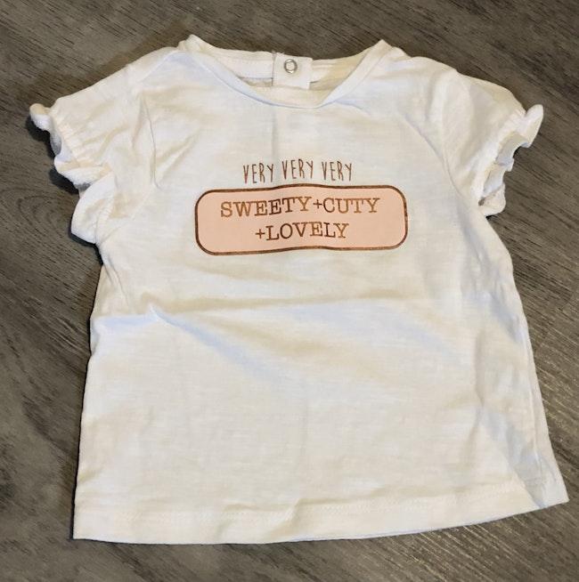Tee-shirt bébé fille