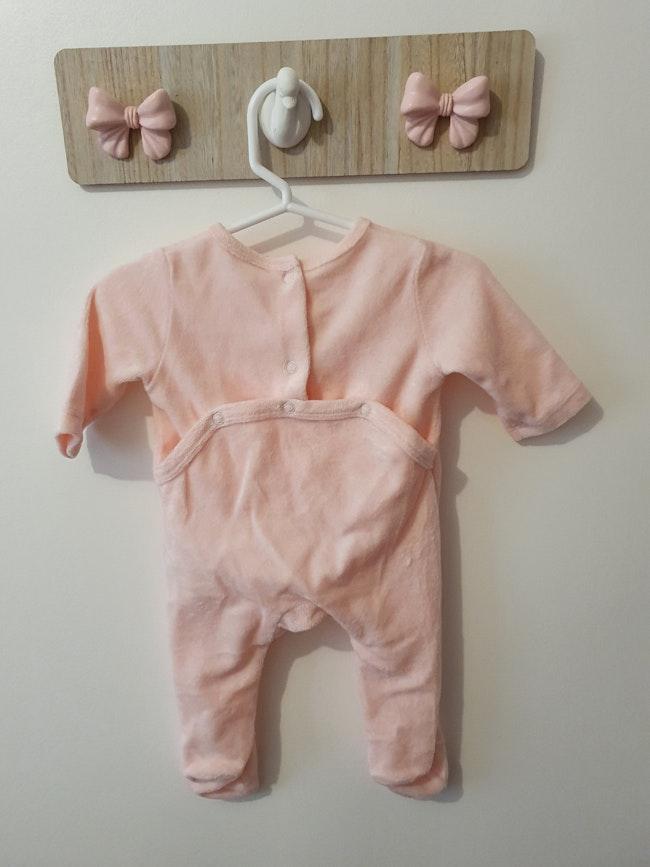 Pyjamas rose pâle