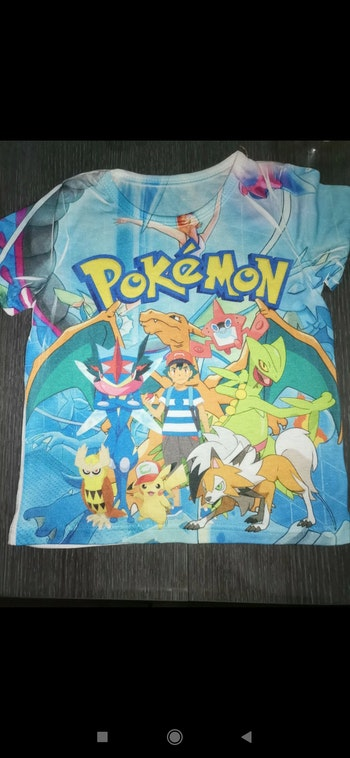 T-shirt garçon pokémon mp