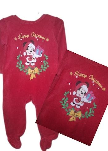 Pyjama de Noël 12 mois