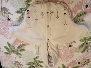 Manteau type poncho