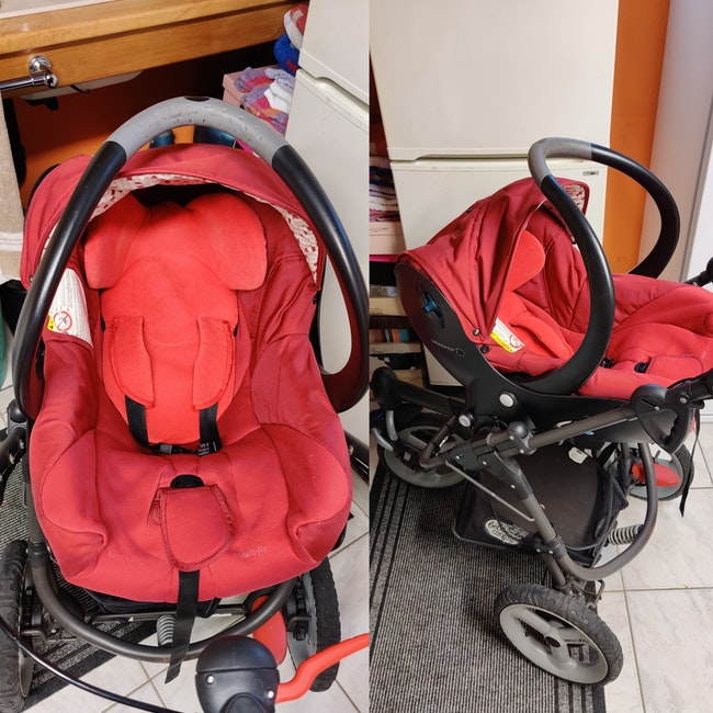 Poussette bébé confort high trek