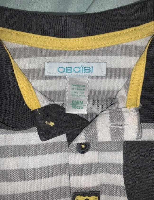 T-shirt Obaïbi 6 mois