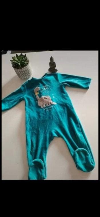 Pyjama velours 12mois