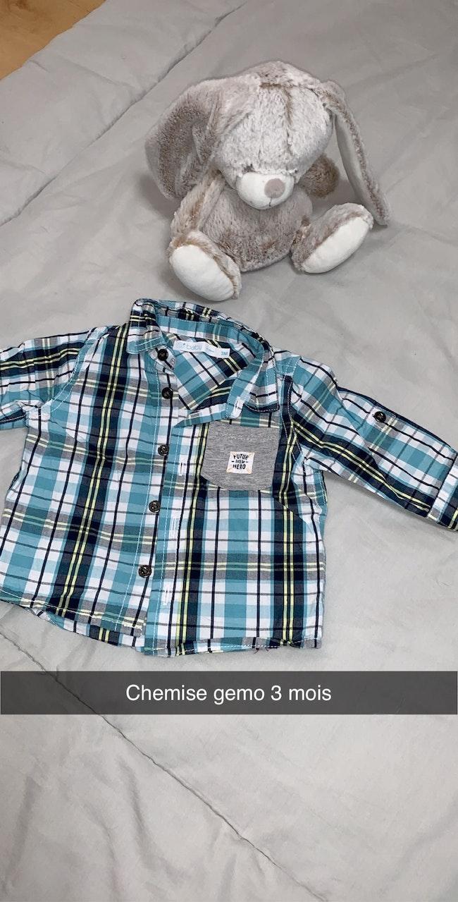 3 petites chemises