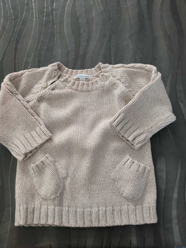 Gros pull hiver 36 mois