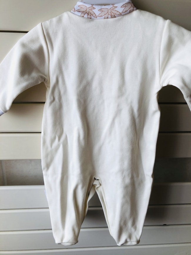 Pyjama léger crème. 1 mois. Neuf.