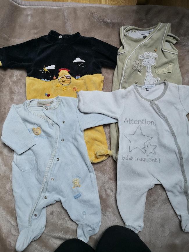 Lots de pyjamas