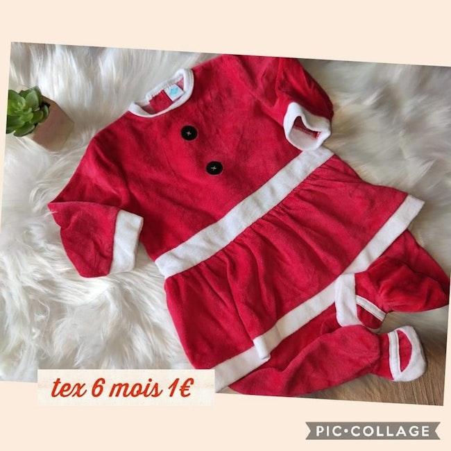 Pyjamas mère Noël