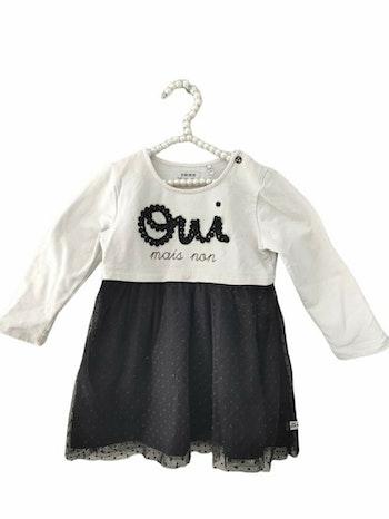 18 mois bébé fille robe manche longue IKKS