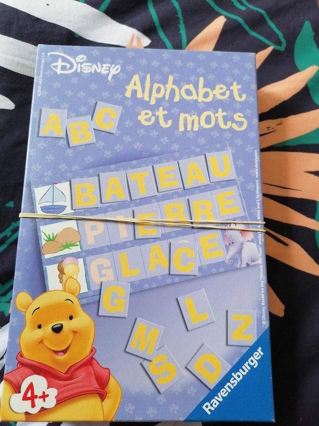 Alphabet et mots winnie