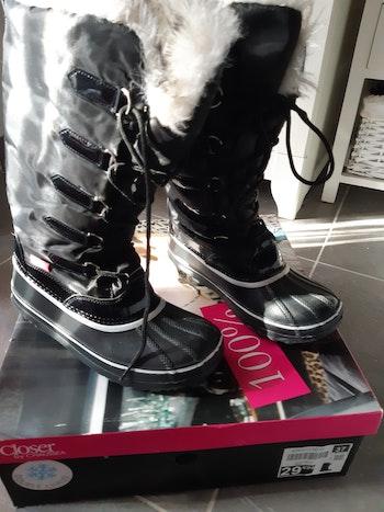 Boots pour la neige pointure 37