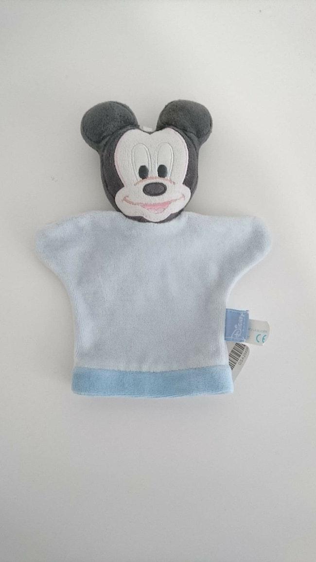 Gant de toilette bébé Mickey Disney