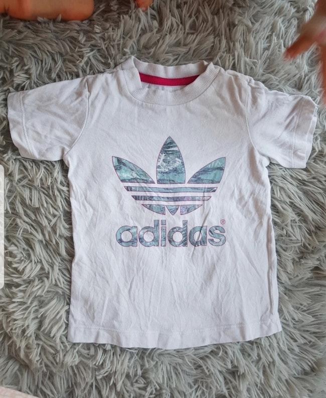 T shirt Adidas fille 18mois