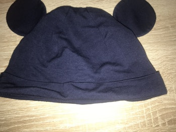 Bonnet Mickey bleu marine