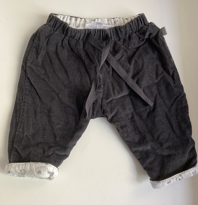 Pantalon gris foncé